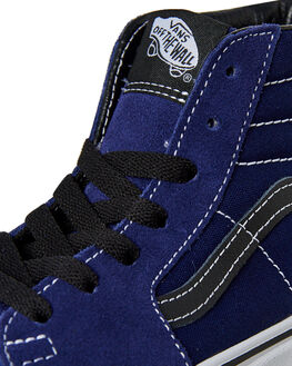 MEDIEVAL BLUE BLACK KIDS BOYS VANS SNEAKERS - VN00D5FU3YBLU