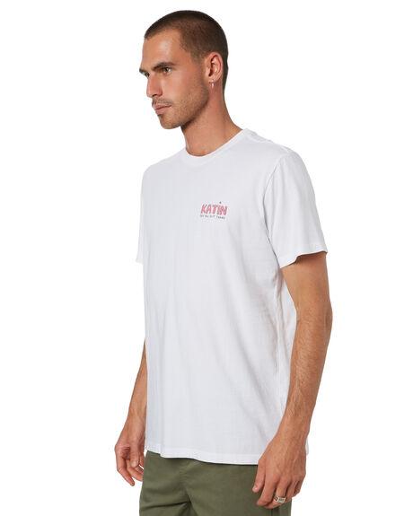 WHITE MENS CLOTHING KATIN TEES - TSBAT07WHITE