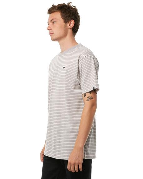 GREY MENS CLOTHING ZOO YORK TEES - ZY-MTA8116GRY