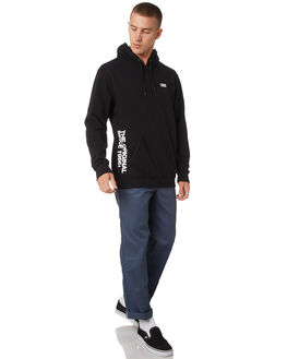 BLACK MENS CLOTHING VANS JUMPERS - VNA3W2RBLKBLK