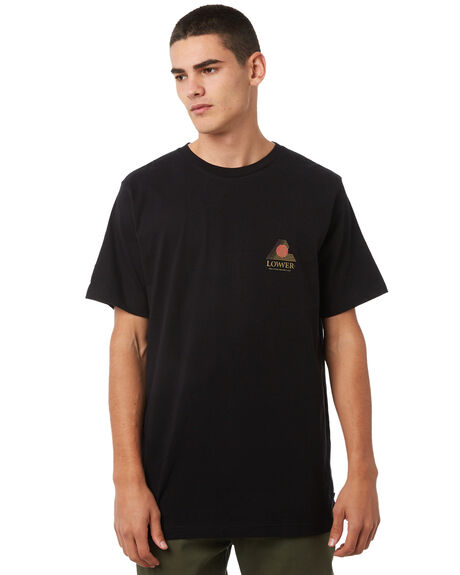 BLACK OUTLET MENS LOWER TEES - LO18Q3MTS05BLK