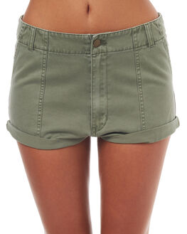 KHAKI OUTLET WOMENS BILLABONG SHORTS - 6571273KHA