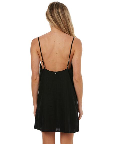 BLACK WOMENS CLOTHING BILLABONG DRESSES - 6572476BLK