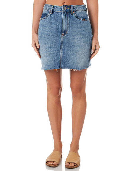 SNAPSHOT BLUE OUTLET WOMENS RIDERS BY LEE SKIRTS - R551448FK9