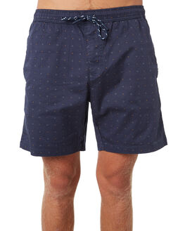 NAVY MENS CLOTHING DEPACTUS BOARDSHORTS - D5184247NAVY