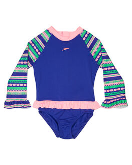 FUN STRIPE BAMBOLA BOARDSPORTS SURF SPEEDO TODDLER GIRLS - 7732D-7076STRP