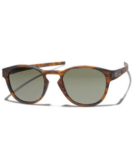 MATTE BROWN TORTOISE MENS ACCESSORIES OAKLEY SUNGLASSES - OO926502