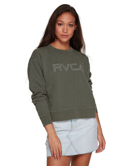DARK ARMY WOMENS CLOTHING RVCA JUMPERS - RV-R293156-3DA