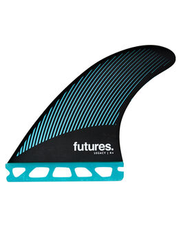 TEAL BLACK BOARDSPORTS SURF FUTURE FINS FINS - 1136-159-00TEABK