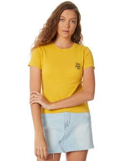 YELLOW WOMENS CLOTHING INSIGHT TEES - 5000001733YEL