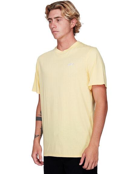 BRIGHT LEMON MENS CLOTHING RVCA TEES - RV-R192042-BT0