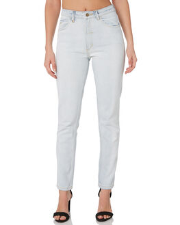 ICE BLUE WOMENS CLOTHING THRILLS JEANS - WTDP-407IEICEB