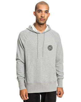 GREY HEATHER MENS CLOTHING DC SHOES JUMPERS - EDYFT03432-KNFH