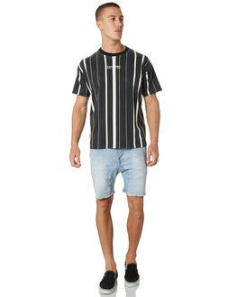 MID BLUE TAC MENS CLOTHING ZANEROBE SHORTS - 604-TDKMBLT