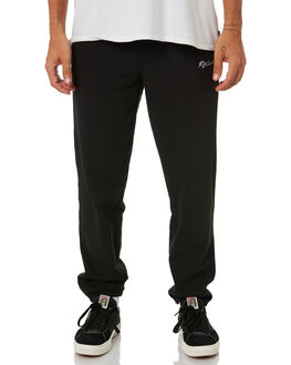 BLACK MENS CLOTHING RIP CURL PANTS - CPAEN10090