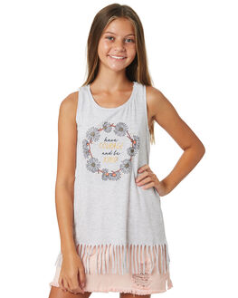 GREY MARLE KIDS GIRLS EVES SISTER TOPS - 9920012GRYMR