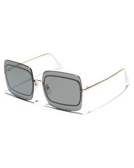 BLACK WOMENS ACCESSORIES SUPER BY RETROSUPERFUTURE SUNGLASSES - 1SABLK