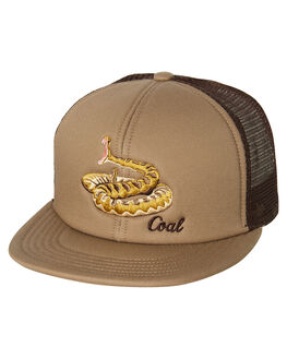 KHAKI MENS ACCESSORIES COAL HEADWEAR - 231410KHA