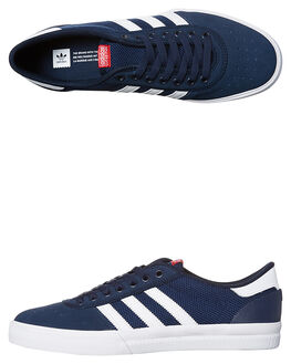 NAVY WHITE SCARLET MENS FOOTWEAR ADIDAS ORIGINALS SKATE SHOES - BB8541NVY
