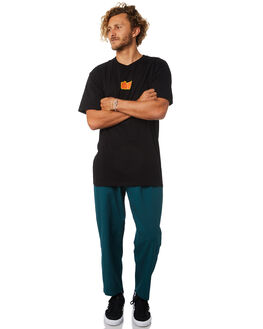 PINE GREEN MENS CLOTHING OBEY PANTS - 142020106PNE