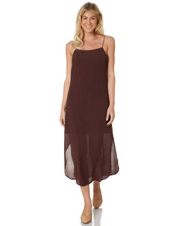 CHOCOLATE WOMENS CLOTHING C&M CAMILLA AND MARC DRESSES - TCMD1532CHOC