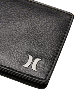 BLACK MENS ACCESSORIES HURLEY WALLETS - HU0094010