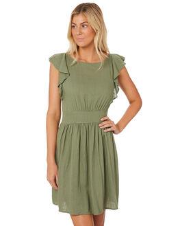 TURTLE WOMENS CLOTHING SASS DRESSES - 12958DWSSGREEN