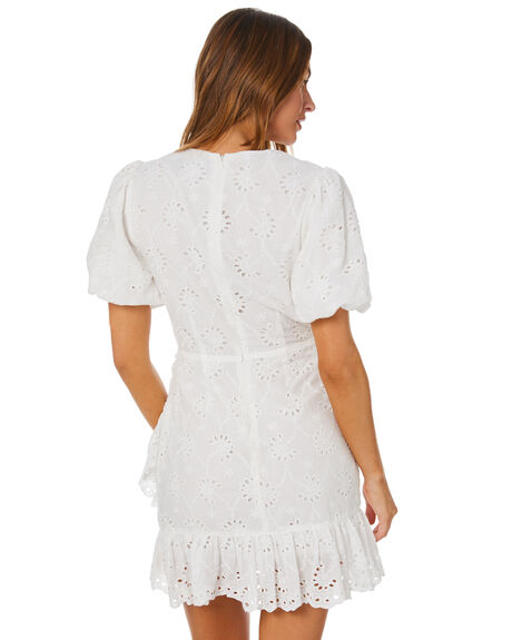 WHITE WOMENS CLOTHING MINKPINK DRESSES - MP2008459WHT