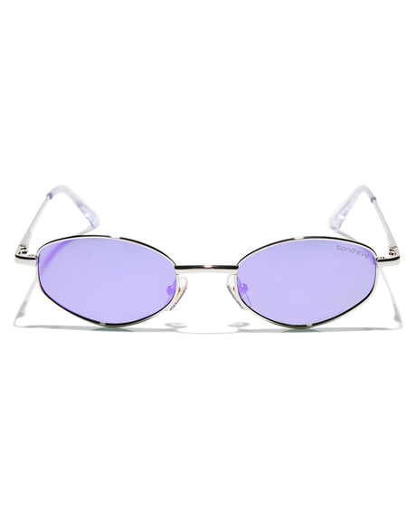 SILVER WOMENS ACCESSORIES BOND EYE SUNGLASSES - BES008SIL