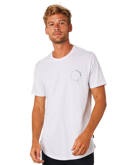 WHITE MENS CLOTHING SILENT THEORY TEES - 4022111WHT