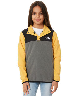 YELLOW KIDS GIRLS THE NORTH FACE JUMPERS + JACKETS - NF0A3NKC70MYLW