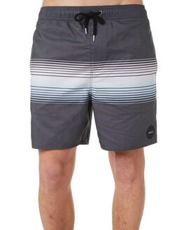 BLACK MENS CLOTHING RVCA BOARDSHORTS - R181403BLK