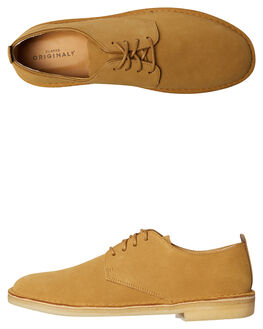OCHRE MENS FOOTWEAR CLARKS ORIGINALS FASHION SHOES - SS26128279OCHM