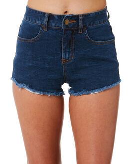 DARK INDIGO WOMENS CLOTHING BILLABONG SHORTS - 6572298IND