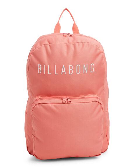 CORAL PINK WOMENS ACCESSORIES BILLABONG BAGS + BACKPACKS - BB-6603007-CIP