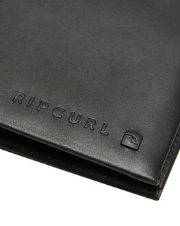 BLACK MENS ACCESSORIES RIP CURL WALLETS - BWLIB10090