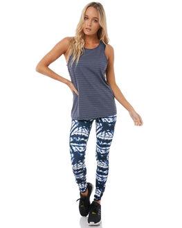 DRESS BLUES GEOMETRY WOMENS CLOTHING ROXY ACTIVEWEAR - ERJNP03164BTK6
