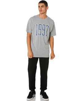 GREY MARLE MENS CLOTHING HUFFER TEES - MTE91S23.213GRY
