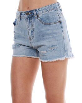 BLEACH WOMENS CLOTHING THE HIDDEN WAY SHORTS - H8174230BLC