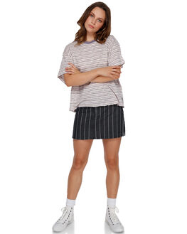 PURPLE JADE WOMENS CLOTHING RVCA TEES - R291688PUR