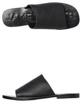 BLACK  BLACK WOMENS FOOTWEAR JAMES SMITH SLIDES - 6115202BKBK