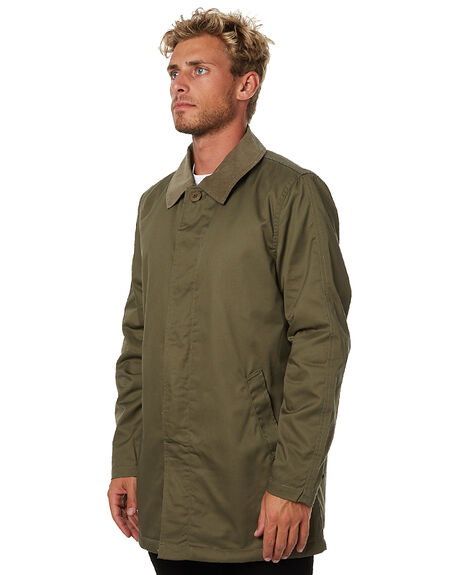 DUSTY OLIVE MENS CLOTHING AFENDS JACKETS - 07-01-059DOLV