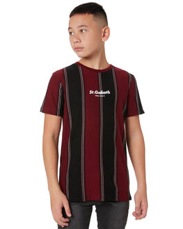 BURGUNDY KIDS BOYS ST GOLIATH TOPS - 2450005BURG
