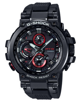 BLACK RESIN MENS ACCESSORIES G SHOCK WATCHES - MTGB1000B-1ABLKRE