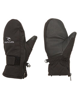 JET BLACK BOARDSPORTS SNOW RIP CURL GLOVES - SKGAC44284