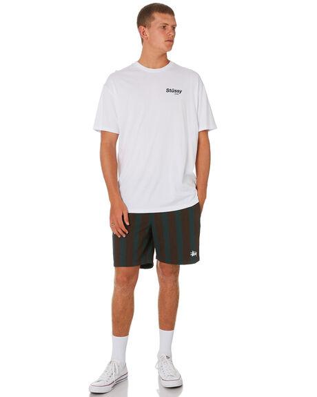 TEAL MENS CLOTHING STUSSY BOARDSHORTS - ST091600TEAL