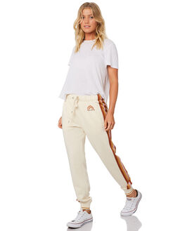 WHITE SWAN WOMENS CLOTHING BILLABONG PANTS - 6595754WHS