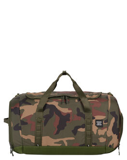 WOODLAND CAMO MENS ACCESSORIES HERSCHEL SUPPLY CO BAGS + BACKPACKS - 10299-01825-OSWOOD