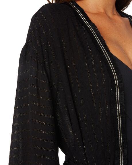 BLACK WOMENS CLOTHING TIGERLILY FASHION TOPS - T305510BLK