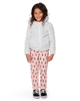 LIGHT GREY KIDS GIRLS BILLABONG JUMPERS + JACKETS - BB-5507737-G63